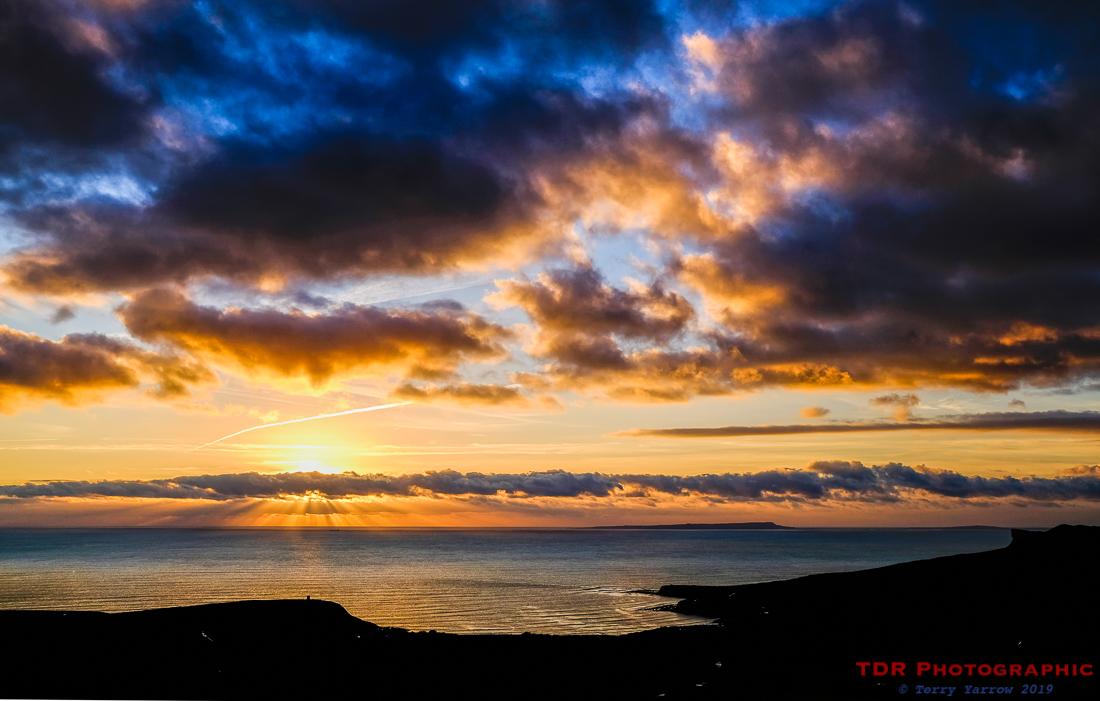 Kimmeridge Sunset