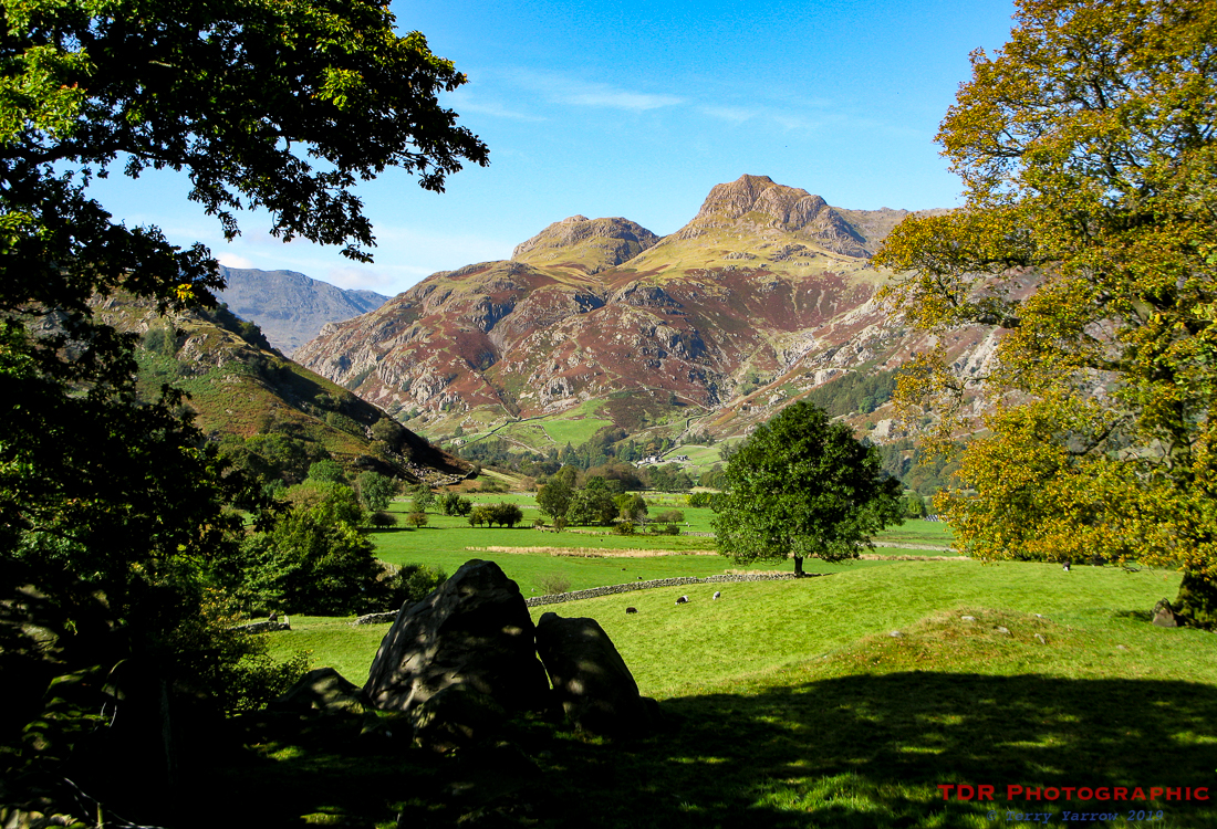In the Langdale Valley